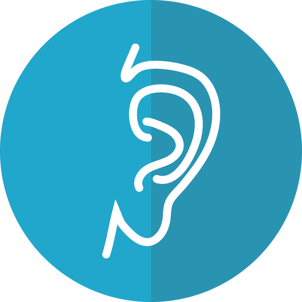 ear icon, ear, hearing